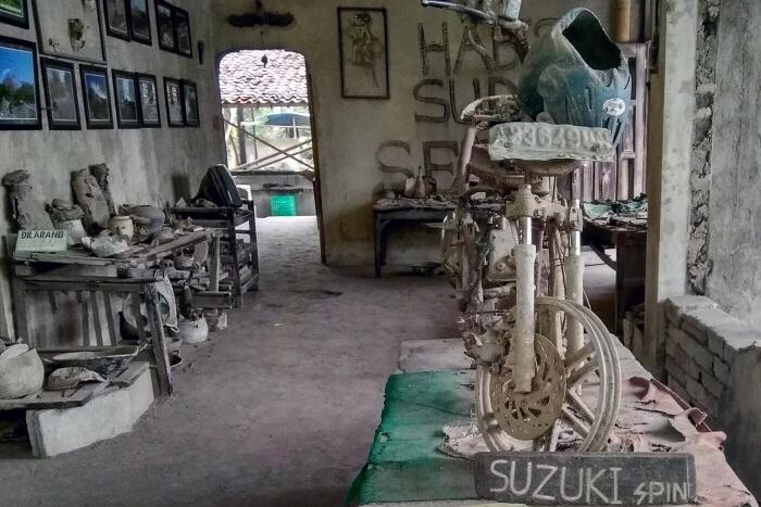 Museum Mini Gunung Merapi