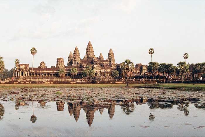 Kuil Angkor Wat Kamboja