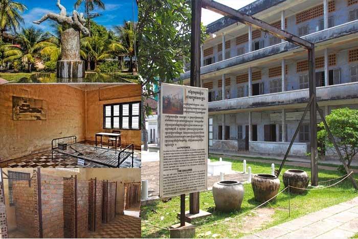Museum The Tuol Sleng Genocide Kamboja