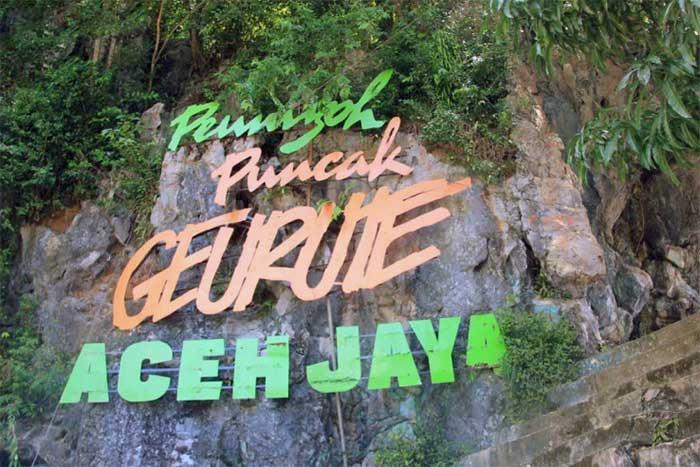 Puncak Geurute, Aceh Jaya