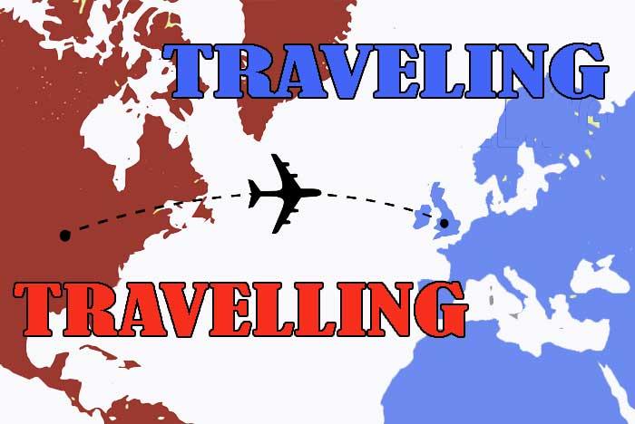 Traveling atau Travelling