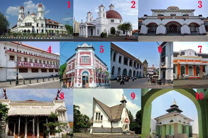 10 Obyek Wisata Bangunan Kuno di Semarang