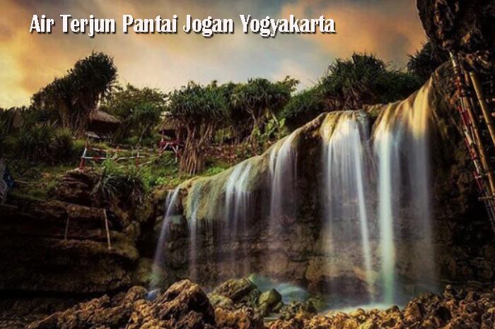 Air Terjun Pantai Jogan Yogyakarta